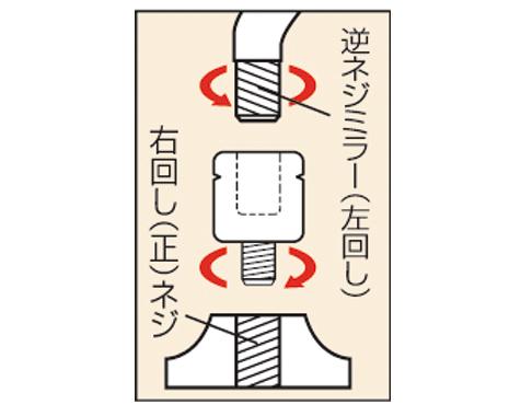 【TANAX NAPOLEON】正牙後視鏡轉接頭 - 「Webike-摩托百貨」