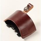 【DEGNER】皮革打檔護套(棕色)