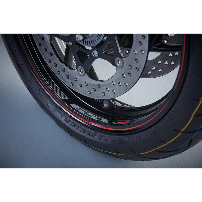 US SUZUKI 北米スズキ純正アクセサリー/GSX-S ホイールデカール【GSX-S Wheel Decals】