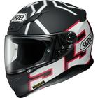 Z-7 MARQUEZ BLACK ANT [ゼット-セブン マルケス ブラック アント TC-5 BLACK/WHITE マットカラー] ヘルメット