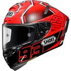 X-14 MARQUEZ4 [X-FOURTEEN エックス-フォーティーン マルケス4 TC-1 RED/BLACK] ヘルメット