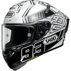 X-14 MARQUEZ4 [X-FOURTEEN エックス-フォーティーン マルケス4 TC-6 WHITE/BLACK] ヘルメット