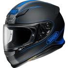 Z-7 FLAGGER [ゼット-セブン フラッガー TC-2 BLUE/BLACK マットカラー] ヘルメット