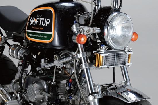 【SHIFT UP】Monkey 機油冷卻器套件(12排) - 「Webike-摩托百貨」