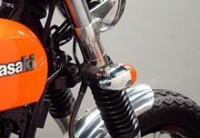 前叉夾箍固定式方向燈支架組Φ35