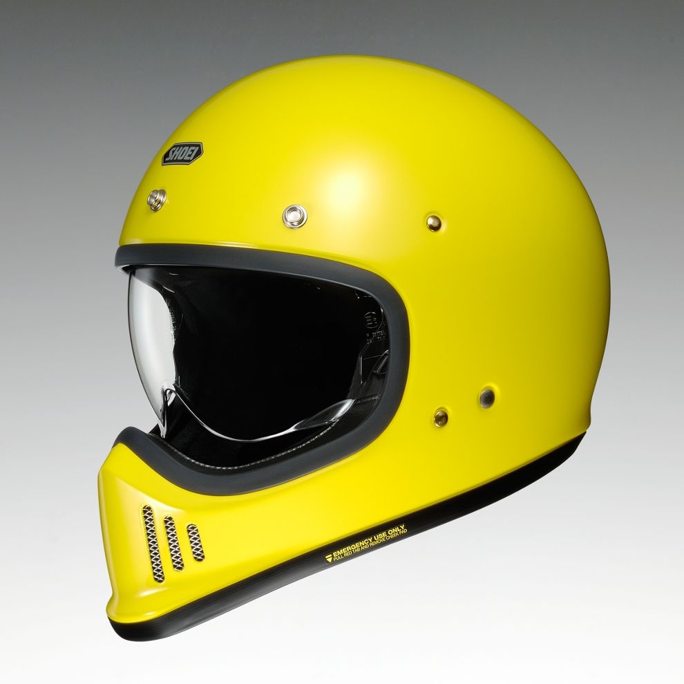 SHOEI ショウエイ/EX-ZERO [イーエックス ゼロ ブリリアントイエロー] ヘルメット