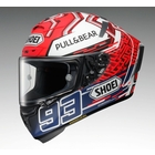X-14 MARQUEZ5 [X-FOURTEEN エックス-フォーティーン マルケス5 TC-1 RED/WHITE] ヘルメット