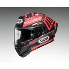 X-14 MARQUEZ BLACK CONCEPT [X-FOURTEEN エックス-フォーティーン マルケス ブラック コンセプト TC-1 RED/BLACK] ヘルメット
