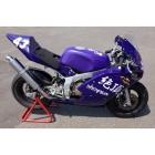 【Shenplus】絶頂 made by HOTLAP NSF100用 SP Racing 全段排氣管【手工彎管加工Down Type】