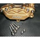 【TITANIUM64】鈦合金煞車來令片插銷/煞車卡鉗螺絲組