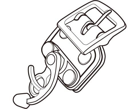 【TANAX motofizz】扣環 - 「Webike-摩托百貨」