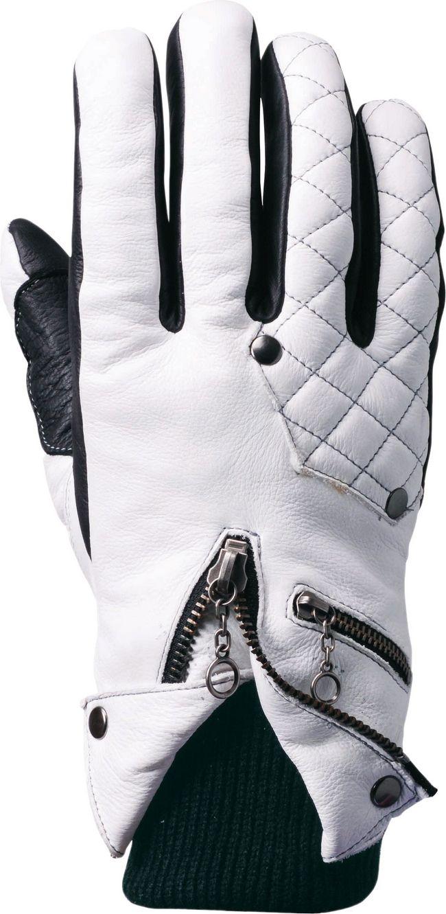 冬季牛皮手套