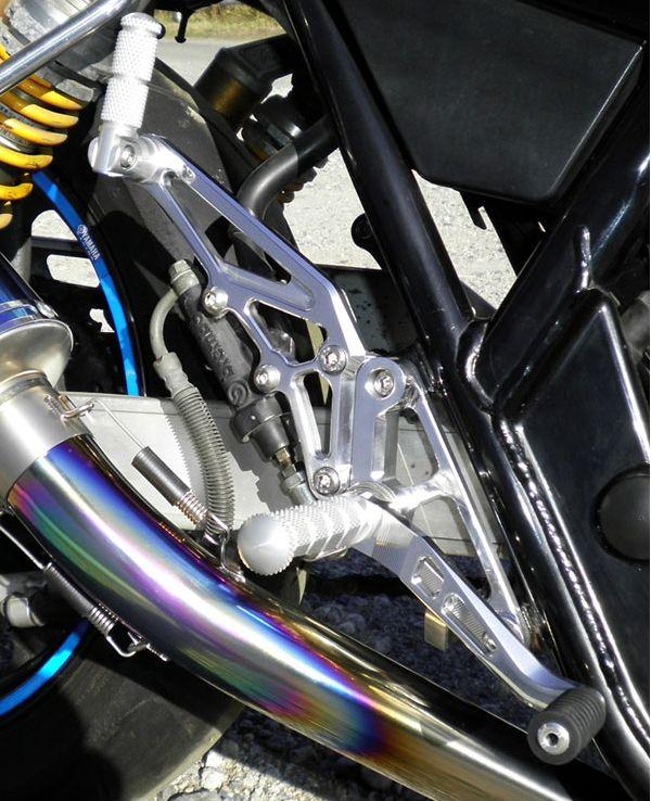 XJR400R専用 腳踏後移套件 (附後座腳踏)
