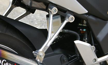 CBR250R(MC41) 競賽用鋁合金排氣管支架