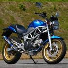 【MotoGear】VTR250 鈦合金全段排氣管