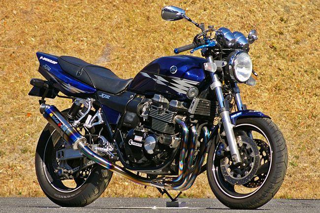 【MotoGear】XJR400 XJR400R Special Edition  鈦合金全段排氣管 (無腳踏後移套件) - 「Webike-摩托百貨」