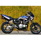 【MotoGear】XJR400 XJR400R Special Edition  鈦合金全段排氣管  (附腳踏後移套件)