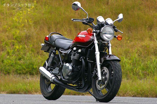 【MotoGear】KAWASAKI Zephyr750 鈦合金手工彎管全段排氣管  短版鋁合金消音器 - 「Webike-摩托百貨」