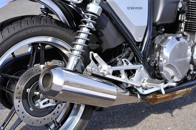 【MotoGear】CB1100 Megaphone 手工彎管加工鈦合金排氣管尾段 - 「Webike-摩托百貨」