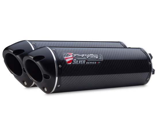【Two Brothers Racing】VALE 雙排氣管尾段 (M2鋁合金消音器) - 「Webike-摩托百貨」