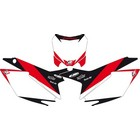 【Blackbird Racing】PRE-CUT車身圖型貼紙 背景 白
