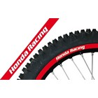 【Blackbird Racing】HONDA RACING 輪框貼紙 RED