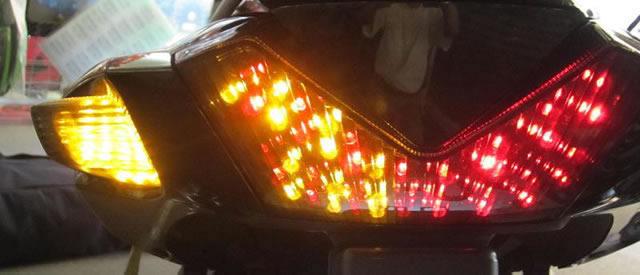 LED 燻黑燈殼完整套件 (B)