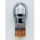 【POSH】T13 (Wedge) 型鍍鉻橘色燈泡