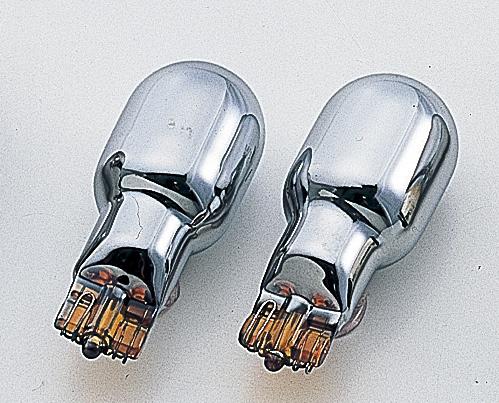 T20(Wedge)型鍍鉻橘色燈泡