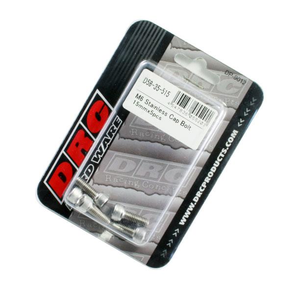 【DRC】不鏽鋼 M6 平頭螺絲 - 「Webike-摩托百貨」