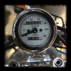 KEIO PARTS Universal Speedometer with trip