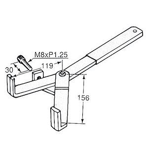 Yamaha離合器固定工具