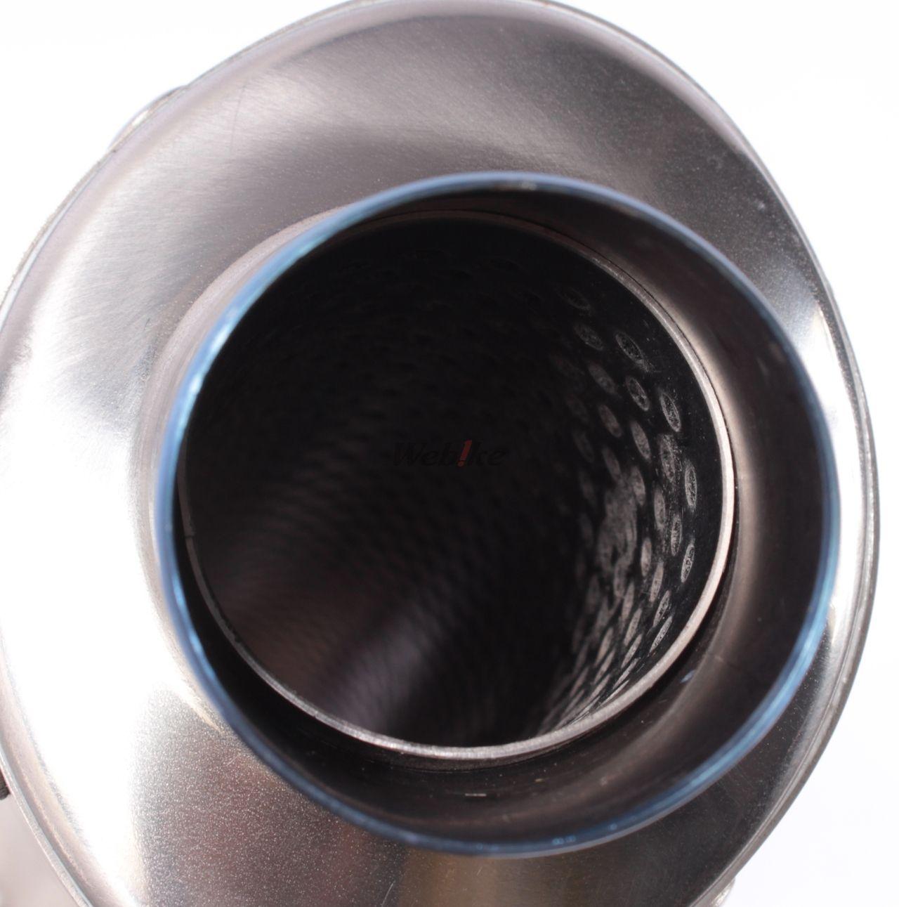 【OVER】鈦合金拋光藍色全段排氣管 - 「Webike-摩托百貨」