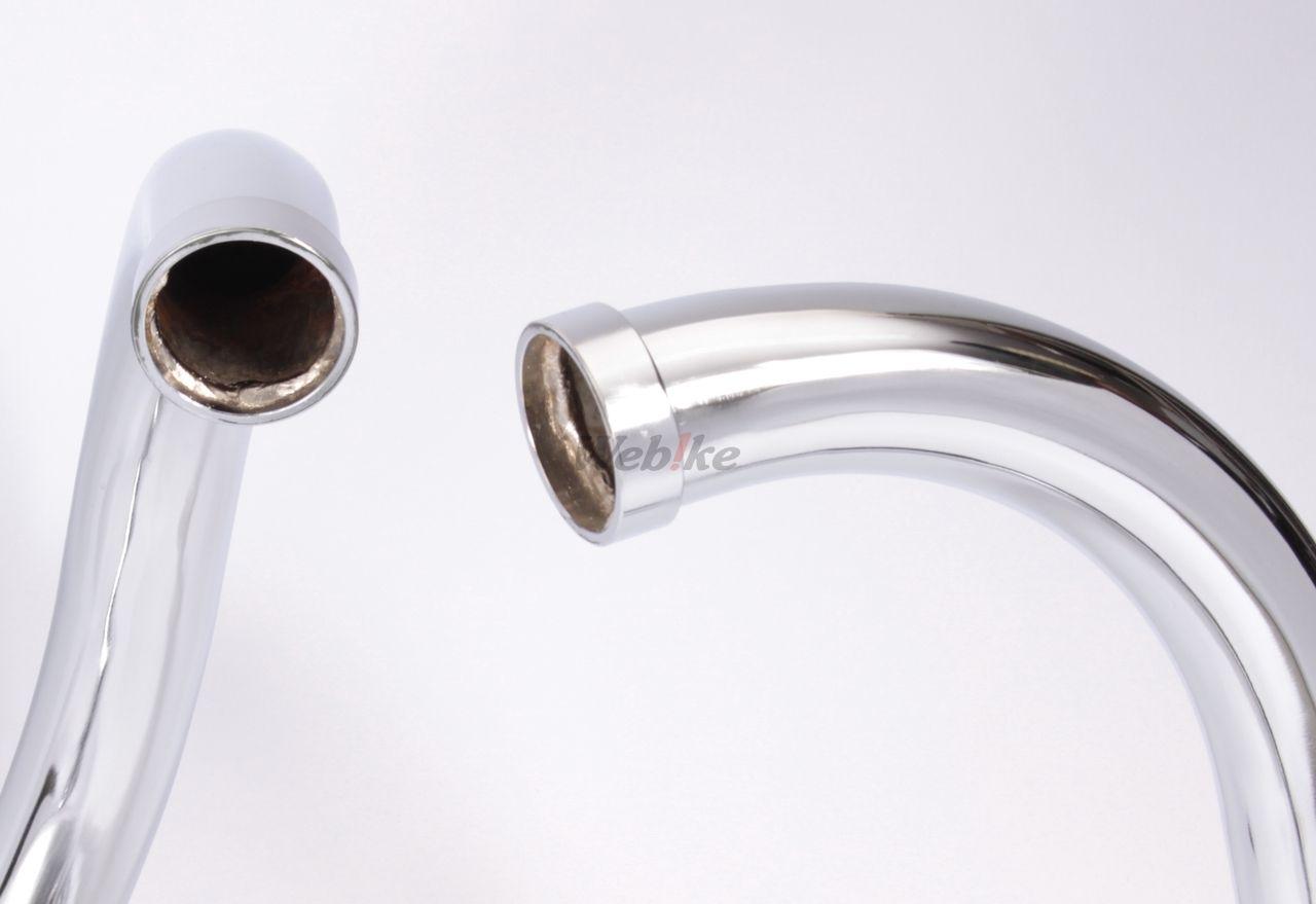 【POSH】W1型式全組排氣管 - 「Webike-摩托百貨」