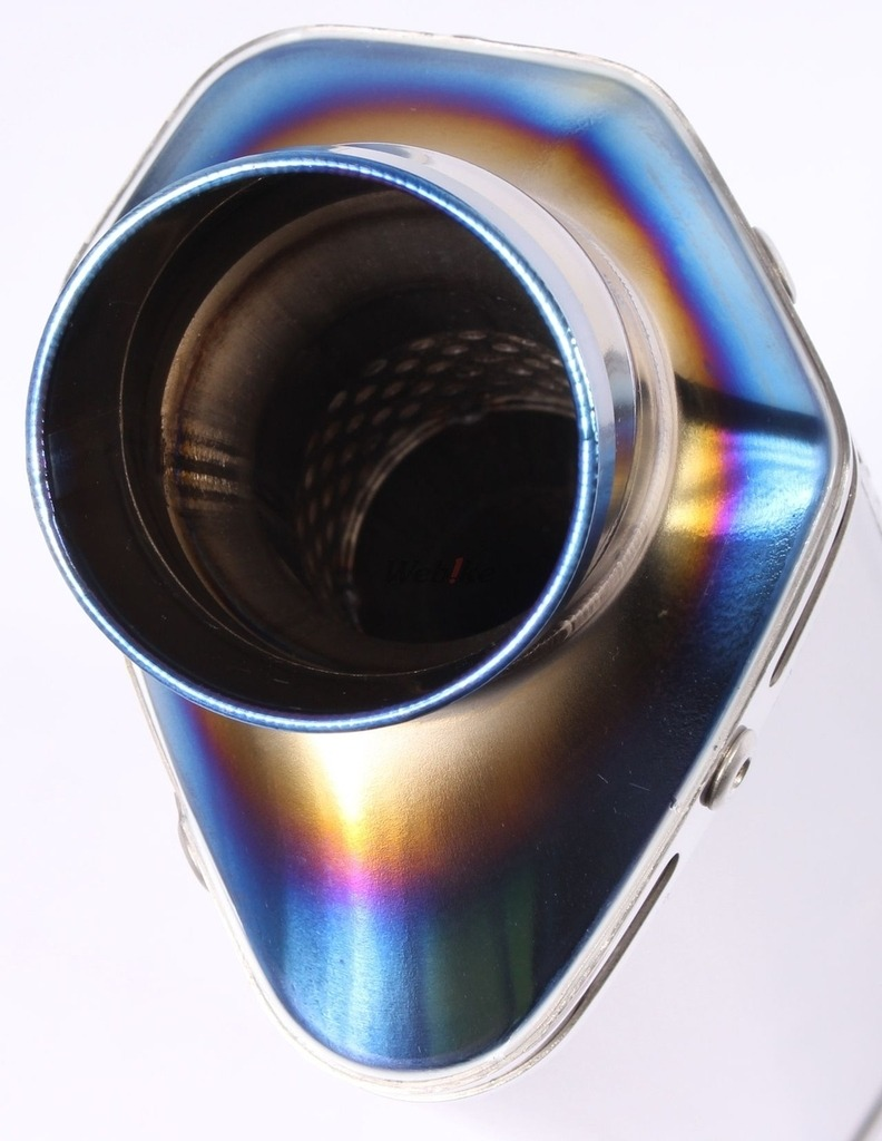 【OVER】TT-Formula 全鈦 上翹式排氣管 - 「Webike-摩托百貨」