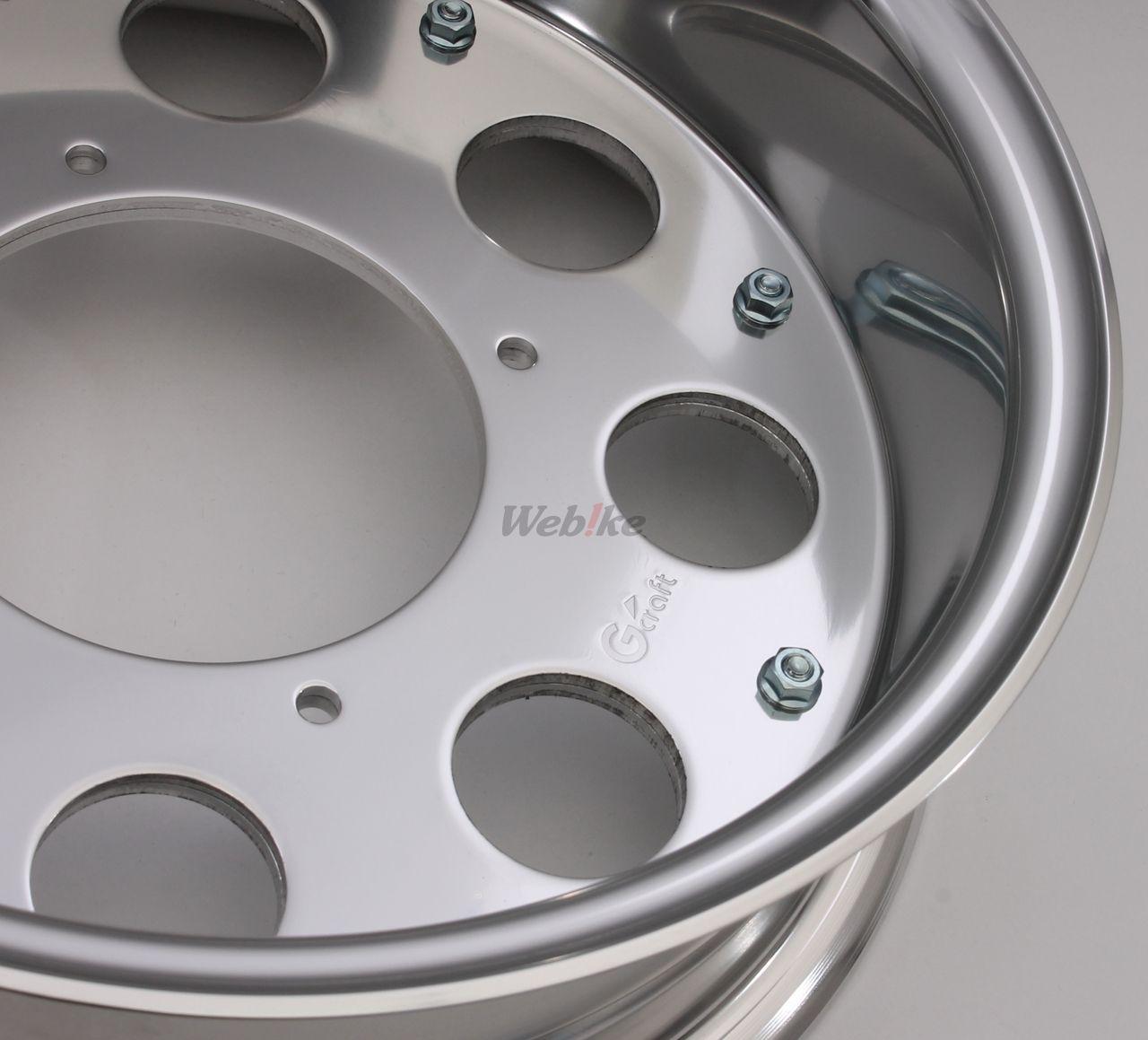 【G-Craft】APE50前/後輪用 APE100前輪用 12英吋寬版輪框套件 3.75J - 「Webike-摩托百貨」
