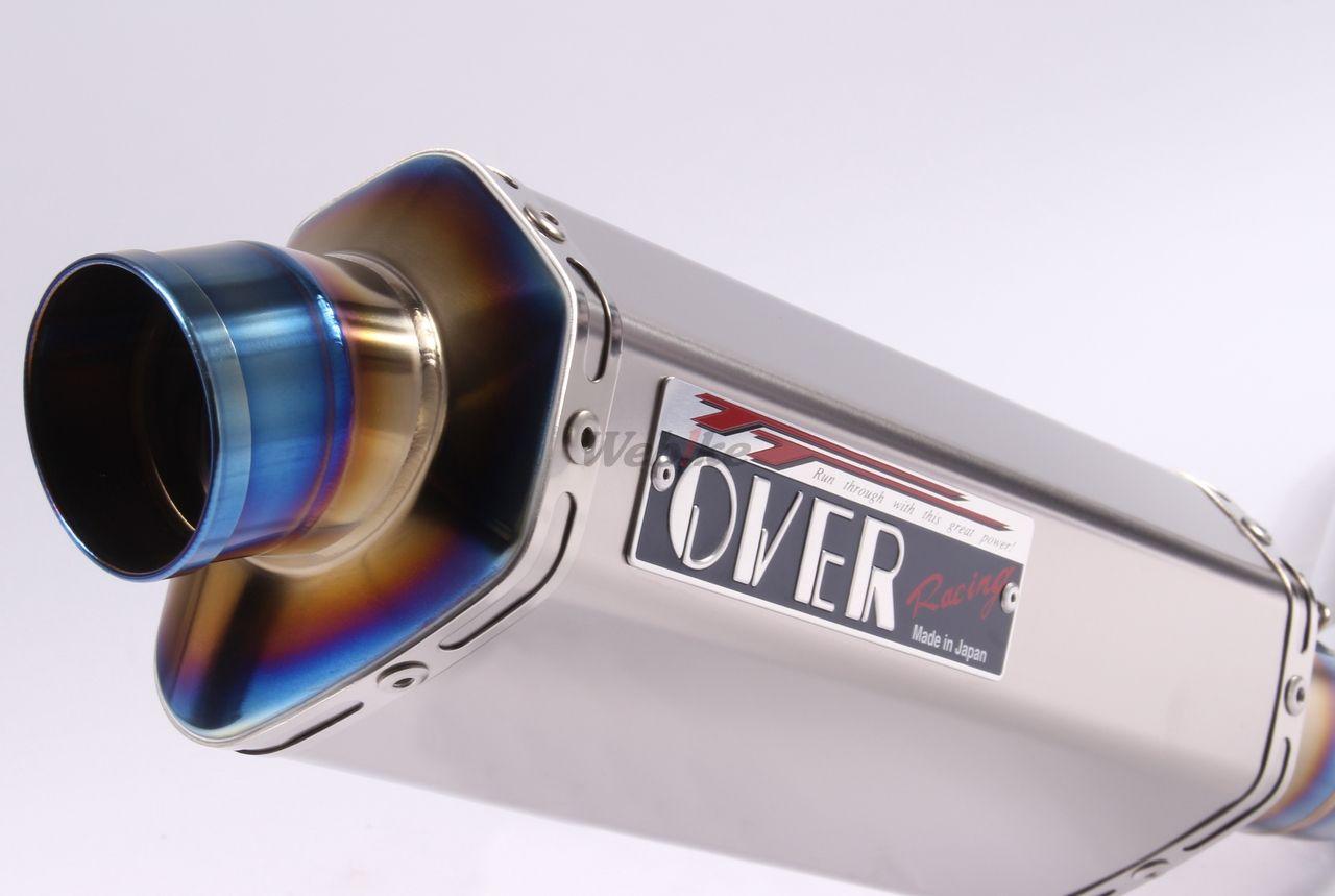 【OVER】TT-Formula 全鈦 排氣管 - 「Webike-摩托百貨」