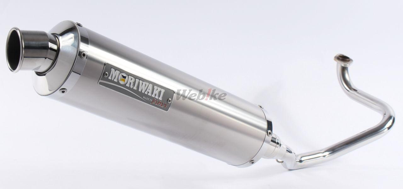 【MORIWAKI】ZERO 全段排氣管 【白鈦色】 - 「Webike-摩托百貨」