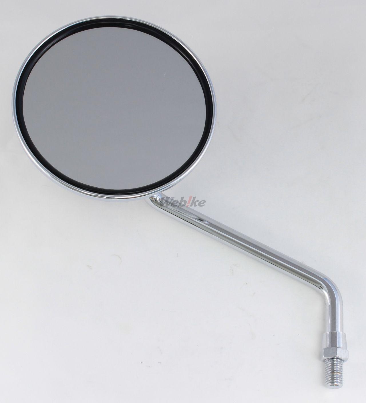 【POSH】圓形短後視鏡 - 「Webike-摩托百貨」