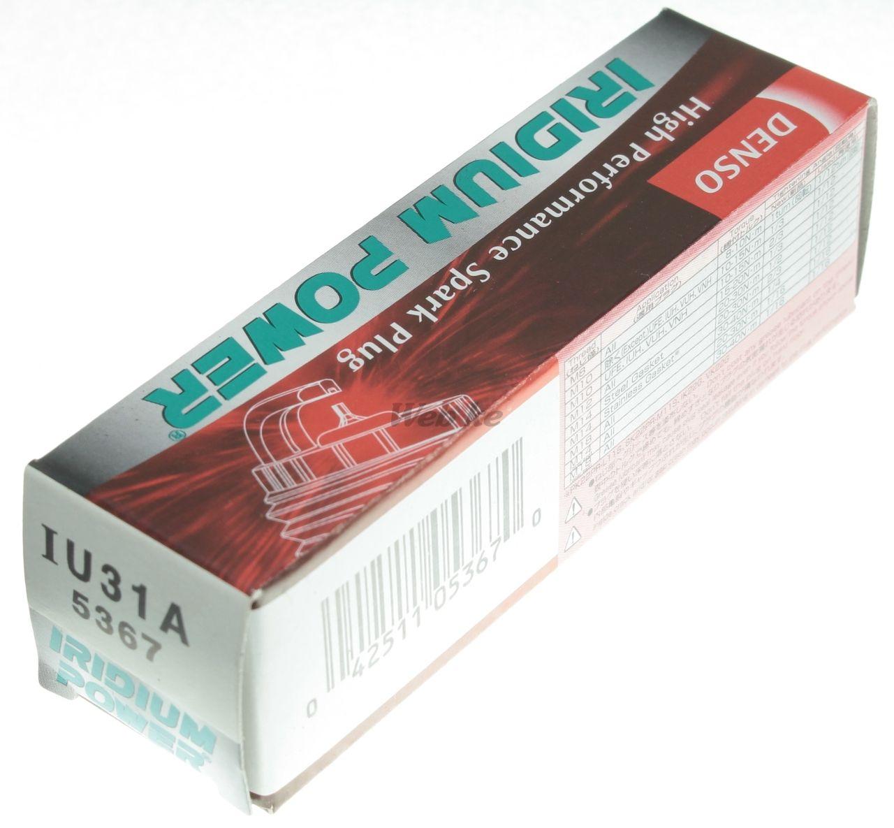 【DENSO】銥合金 火星塞 IU31A - 「Webike-摩托百貨」