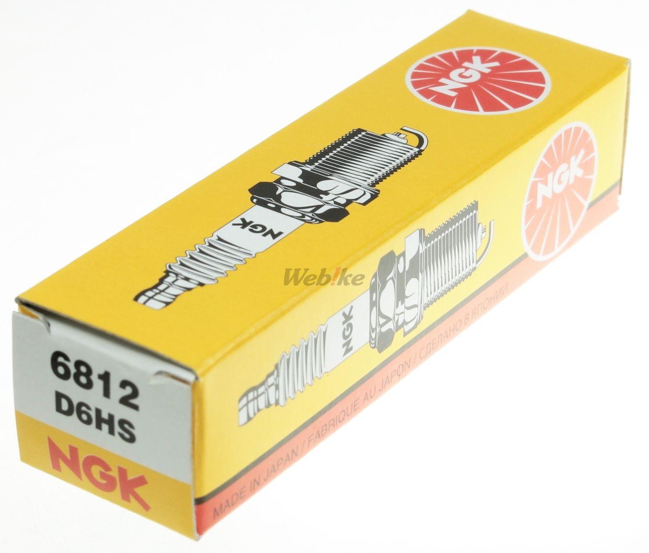 【NGK】標準型 火星塞 D6HS - 「Webike-摩托百貨」