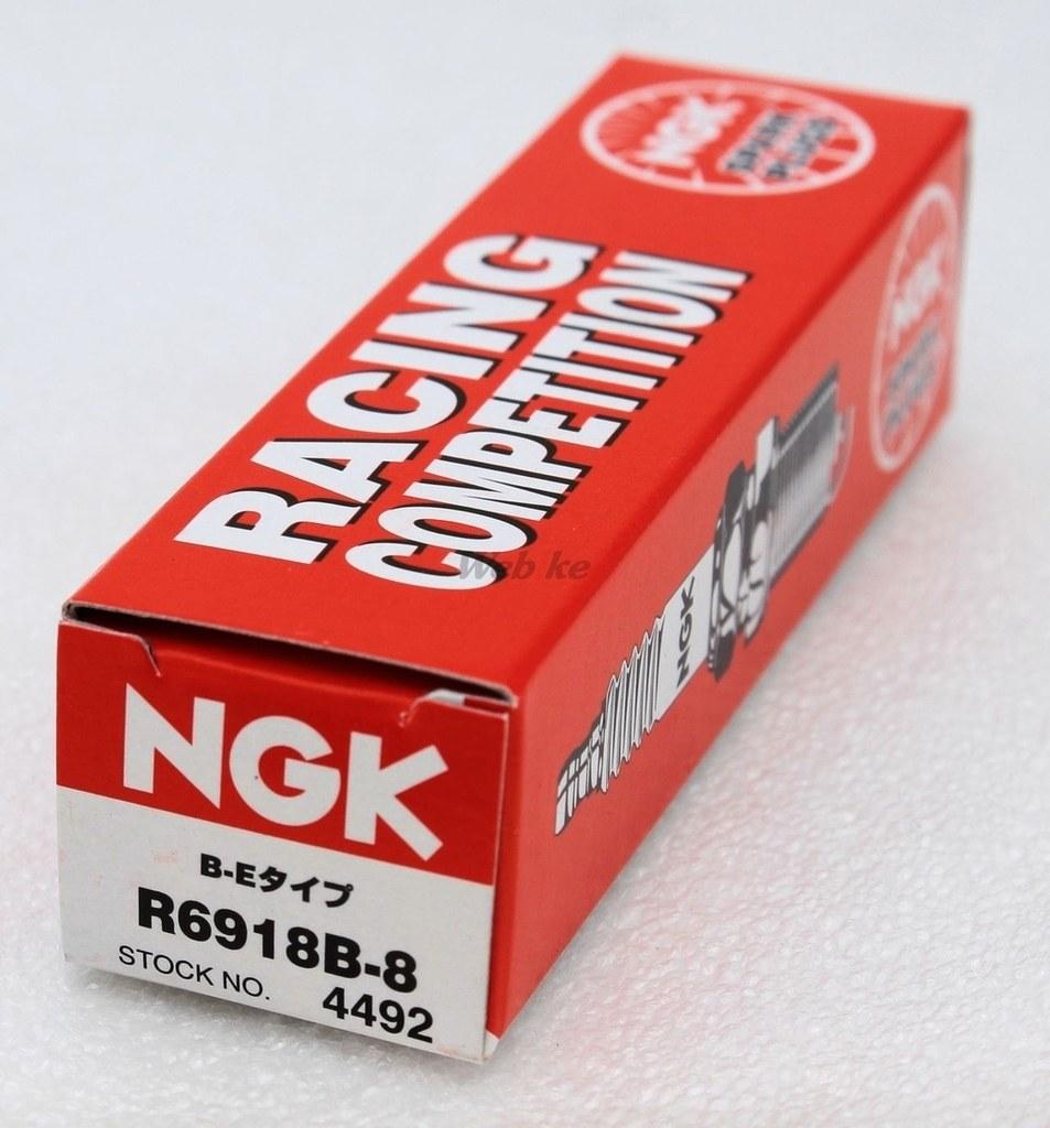 【NGK】競賽型 火星塞 R6918B-8 - 「Webike-摩托百貨」