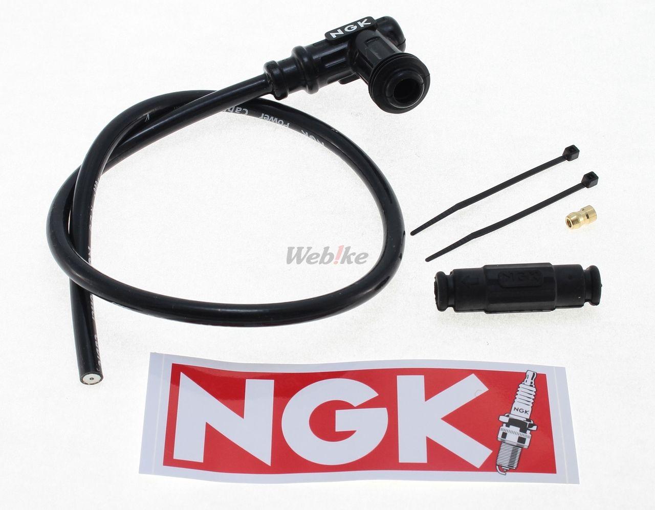 【NGK】火星塞接頭含矽導線(高壓點火線) - 「Webike-摩托百貨」