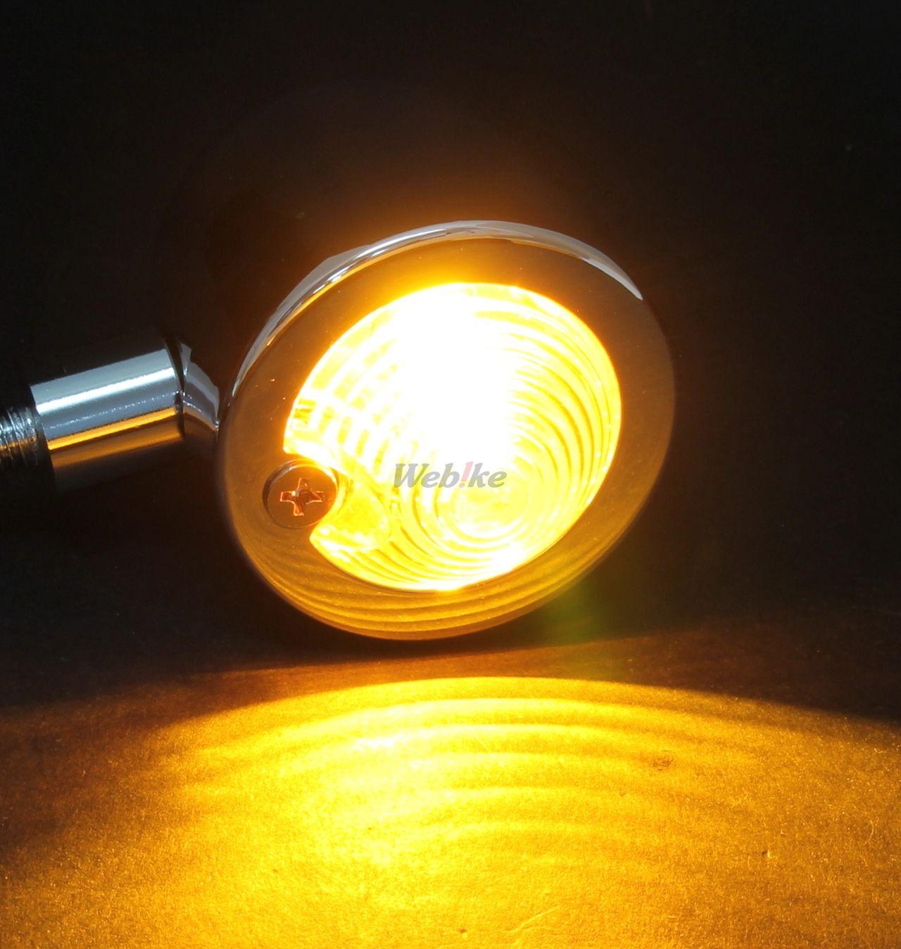 【KIJIMA】Vanette小型方向燈(2個組) - 「Webike-摩托百貨」