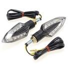 【Webike MODE】LED Stylish 方向燈 Type 6 (透明燈殼×黑色本體)