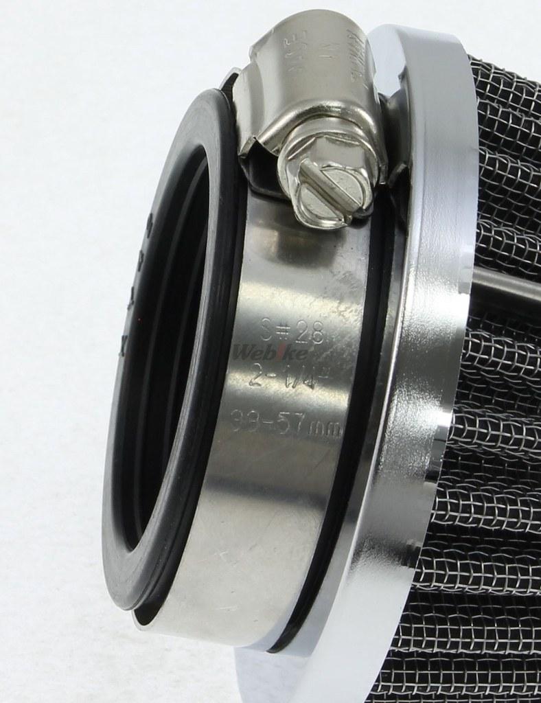 【DOREMI COLLECTION】Power filter高流量空氣濾芯(42Φ) - 「Webike-摩托百貨」