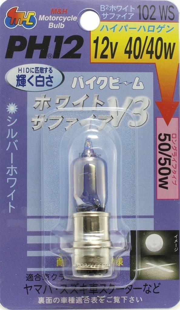 【M&H】Bike Beam 頭燈燈泡 PH12 - 「Webike-摩托百貨」