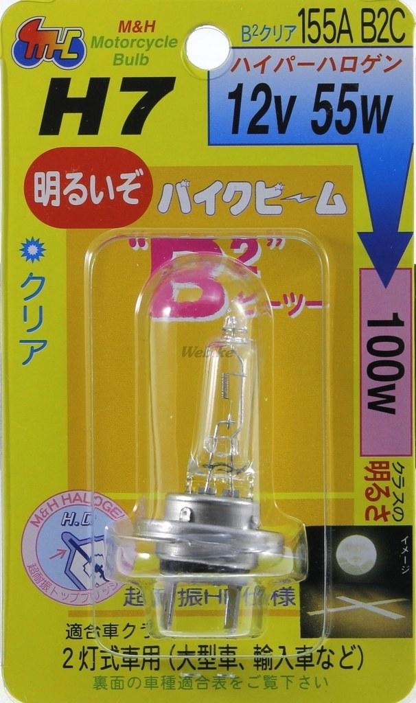 【M&H】頭燈燈泡 H7 - 「Webike-摩托百貨」