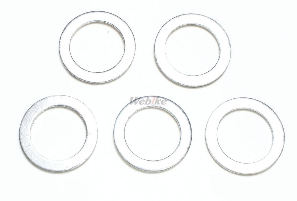 【SP武川】密封墊片14×20×1.5T(5個) - 「Webike-摩托百貨」