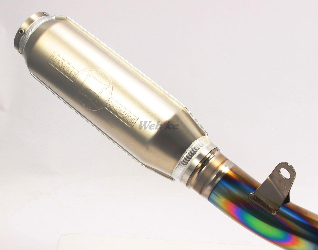 【MORIWAKI】TITAN MONSTER 全段排氣管 RACING - 「Webike-摩托百貨」